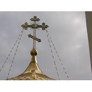 Цепи, растяжки на купольные кресты