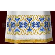 Церковная вышивка. Подризник 12-дизайн для машинной вышивки фото