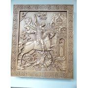 Икона Святой Георгий Победоносец фото