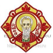 Икона Св. Апостол Фаддей - дизайн для машинной вышивки фото