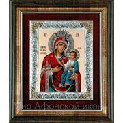 Икона Богородицы Иверская 158х178(мм) фото