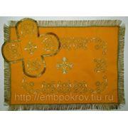 Комплект литургического набора (воздух и покровцы) фото