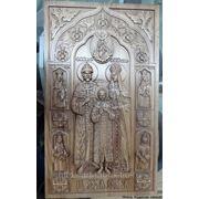 Икона Царская семья фото