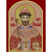 Икона Царя Николая II - дизайн для машинной вышивки фото