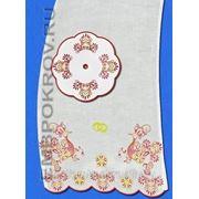 Рушник 06-дизайн для машинной вышивки фото