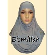 "Капор, хиджаб ""Серый"" фото"