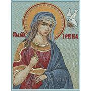 Икона Святой ВМЧ Ирины - дизайн для машинной вышивки фото