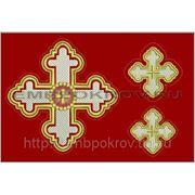 Набор крестов 17 -дизайн для машинной вышивки фото