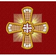 Крест 31 -дизайн для машинной вышивки фото
