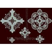 Набор крестов 02 - дизайн для машинной вышивки фото