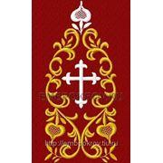 Закладка в Евангелие 05 - дизайн для машинной вышивки