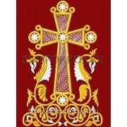 Закладка в Евангелие 09 - дизайн для машинной вышивки фото