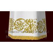 Церковная вышивка. Подризник 08-дизайн для машинной вышивки фото