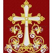 Закладка в Евангелие 17 - дизайн для машинной вышивки фото