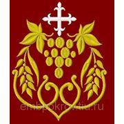 Закладка в Евангелие 18 - дизайн для машинной вышивки фото