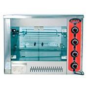 Аппараты гриль для приготовления кур электрические 9 кур. 3 шампура фото