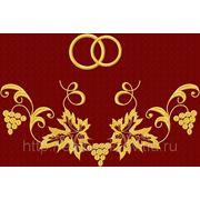 Рушник 03-дизайн для машинной вышивки фото