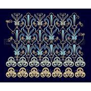 Бордюр 01- Дизайн для машинной вышивки фото