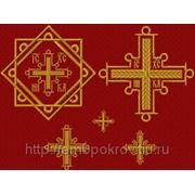Набор крестов 03 - дизайн для машинной вышивки фото