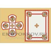 Церковная вышивка. Воздух-покровцы 12 (литургический набор) -дизайн для машинной вышивки фото