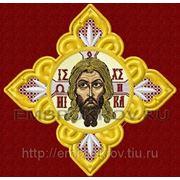 """Крест со """"Спасом"""" -дизайн для машинной вышивки фото"""