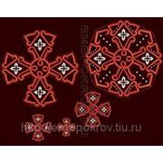 Набор крестов 04 -дизайн для машинной вышивки фото