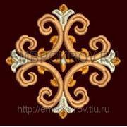 Крест 20 -дизайн для машинной вышивки фото