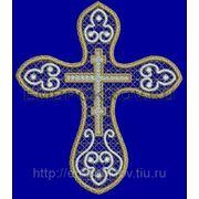 Крест 33 -дизайн для машинной вышивки фото