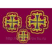 Набор крестов 21 -дизайн для машинной вышивки фото