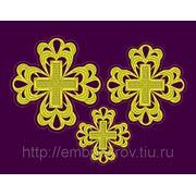 Набор крестов 19 -дизайн для машинной вышивки фото