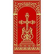Крест 22 -дизайн для машинной вышивки фото