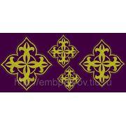 Набор крестов 20 -дизайн для машинной вышивки фото