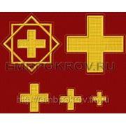 Набор крестов 24 -дизайн для машинной вышивки фото