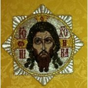 Крест - кустодия со Спасом фото
