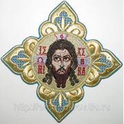 Крест со Спасом на фелонь фото
