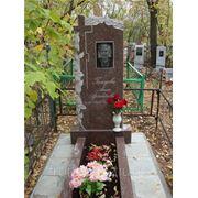 Прямоугольный вертикальный памятник Георгиевск