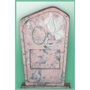 Ритуальный памятник «голубь» фото