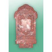Цоколь резной из габбро-диабаза Терек памятник с ангелом Серпухов