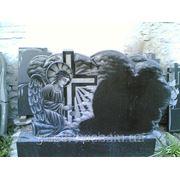 Памятник одиночный с ангелом