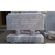 Мраморный памятник М 001 фото