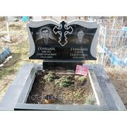 Памятники надгробные на два портрета фотография