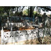 Цоколь резной из габбро-диабаза Красноуральск Эконом памятник Купола с профильной резкой Баймак