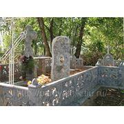 Эконом памятник Волна Жердевка двойной памятники на могилу фото