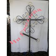 Крест металлический фото