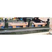 Скамейки на кладбище фото