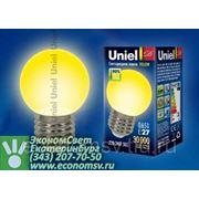 Светодиодная лампа Uniel E27 0,65Вт. K 71x45 фото