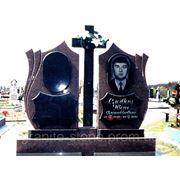 Ваза. Токовский гранит Звенигород памятник на могилу в украине купить