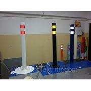 Парковочные столбики (доставка и монтаж) фото