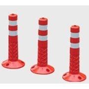 Гибкие столбики (дорожные столбики). фото