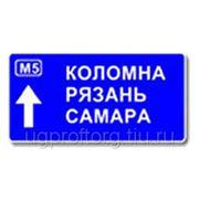 Дорожный знак (индивидуальный проект) (тип А) фото